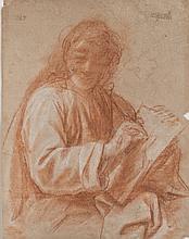 Attribué à Bartolomeo SCHEDONI (1578-1615) Un évangéliste