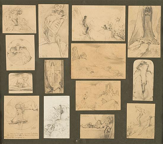 Jan de BOEVER (1872-1949) Études