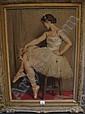 LEROUX Auguste (1871-1954) - Danseuse, Jules Marie Auguste Leroux, Click for value