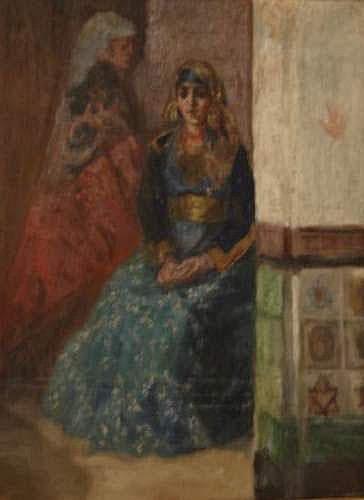 Attribué à LUNOIS Alexandre (1863-1916) - Femmes