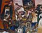 Théo TOBIASSE (1927-2012) Arlequin à babylone