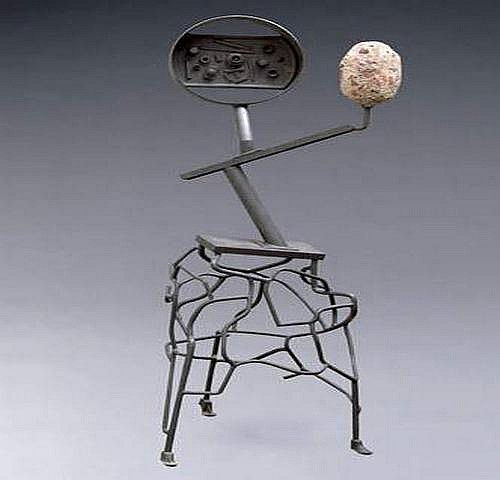 Wilfred ZOGBAUM 1915-1965 - Grey sculpture, circa