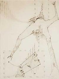 Jorge CAMACHO (1934-2011) Composition, 1961