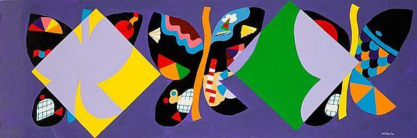 Jorge P. CASTAÑO (1932-2009) Piège à papillons, 1981
