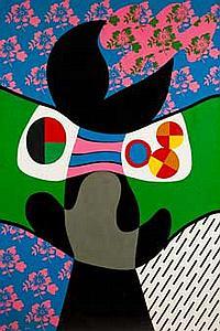 Jorge P. CASTAÑO (1932-2009) L'homme qui mange un mage, 1972