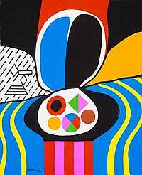 Jorge P. CASTAÑO (1932-2009) Paysage, 1972