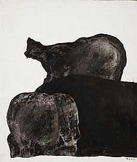 Antonia EIRIZ (1929-1995) Composition, circa 1965