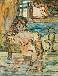 Samuel FEIJÓO (1914-1992) Femme nue, 1944