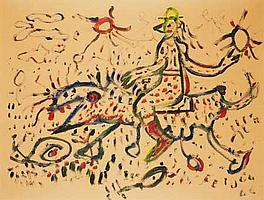 Samuel FEIJÓO (1914-1992) Composition, 1966