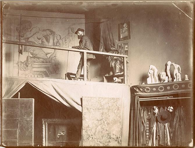 Edmond BÉNARD (1838-1907) Jean-Paul Laurens (1838-1921) - peintre et sculpteur, années 1880-1900
