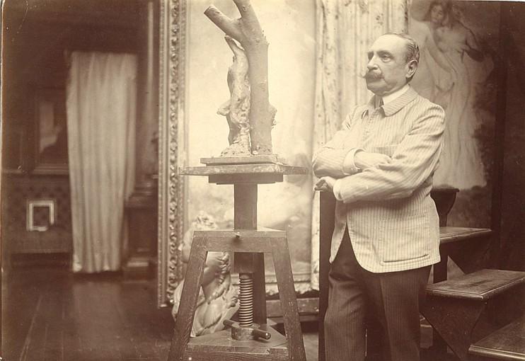 Paul Marsan dit DORNAC (1858-1941) Antonin MERCIÉ, sculpteur (Toulouse, 1845 - Paris, 1916)