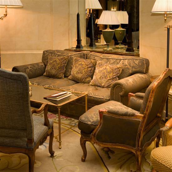 Canap en tissu brocard gris 88x240x90 cm sofa de tapiceria - Tapiceria para sofas ...