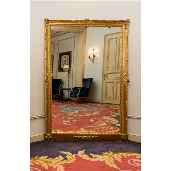 Grand miroir en bois dor h 180 x 122 cm espejo 180 x 122 c - Miroir ancien bois dore ...