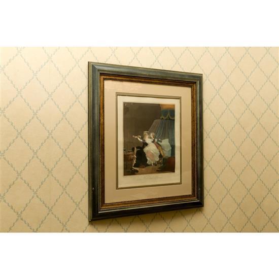 Trois gravuresGrabado pájaros y pareja de grabados Prelude y la Rose