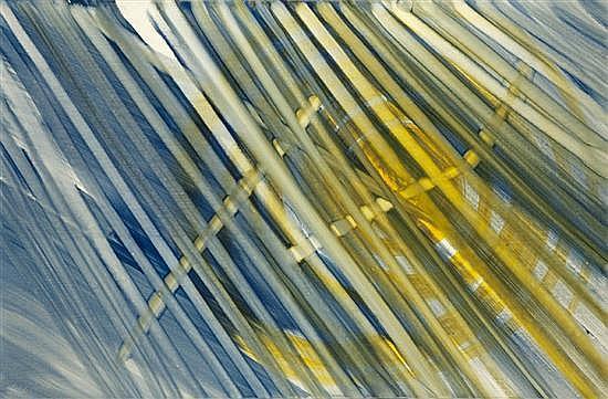 René DUVILLIER (1919-2002) Cycle aérien 17, 1965