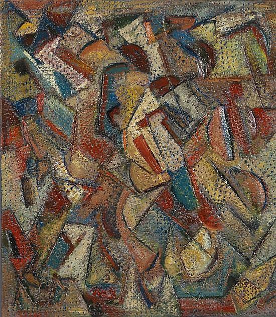 Serge BENOIT (né en 1937) Composition, 2011
