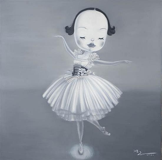 ZHANG Hui (né en 1969) La danseuse, 2006