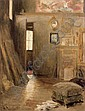 HENRI LEROLLE (1848-1929) - L'ATELIER DE L'ARTISTE, Henry Lerolle, Click for value