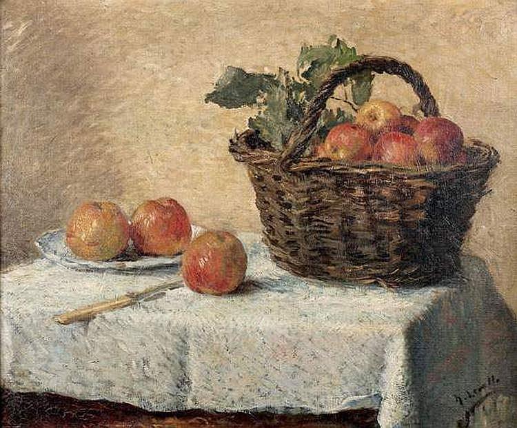 HENRI LEROLLE (1848-1929) - NATURE MORTE, LE