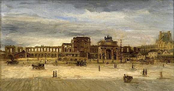 Albert BARTHOLOMÉ (1848-1928) - Ruines des