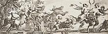 Pierre Brebiette (1598-1650)  Bacchanale