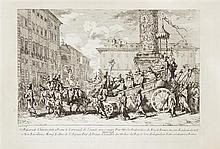 Jean Baptiste Marie Pierre (1713/14-1789)  Mascarade Chinoise faite à Rome le Carnaval de l'année M