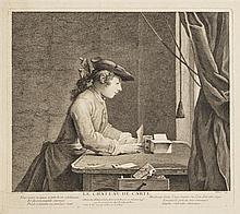 Jean Siméon Chardin (1699-1779)  Le Château de carte (sic)