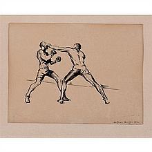 """Arturo Ballester Marco (1892-1981)Encre de chine sur papierSigné en bas à droite18,2 × 24,1 cm""""Arturo Ballester, illustrateur espagn..."""