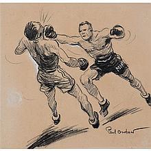 """Paul Ordner (1901-1969)Dessin au crayon noir et gouache blanche sur papierSigné en bas à droite29 × 30 cm""""Paul Ordner (1901- 1969) e..."""