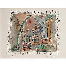 d'après Joan Miro (1893-1983)Après l'orage - 1957