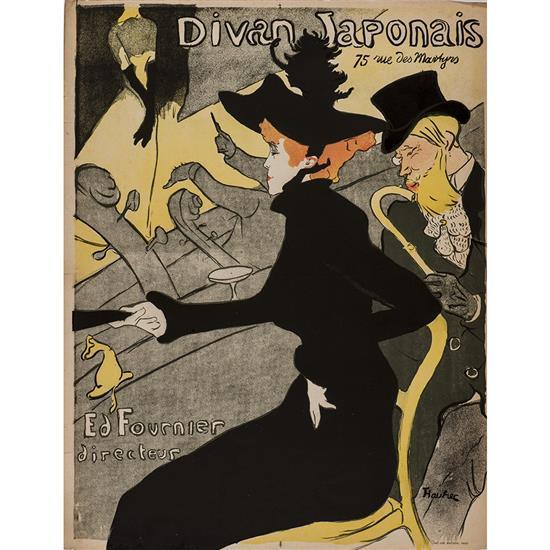 Henri de toulouse lautrec 1864 1901 divan japonais 1893 for Divan japonais