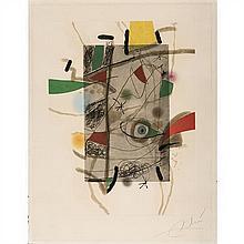 ƒ Joan Miro (1893-1983)Libre dels sis sentits - planche III - 1981