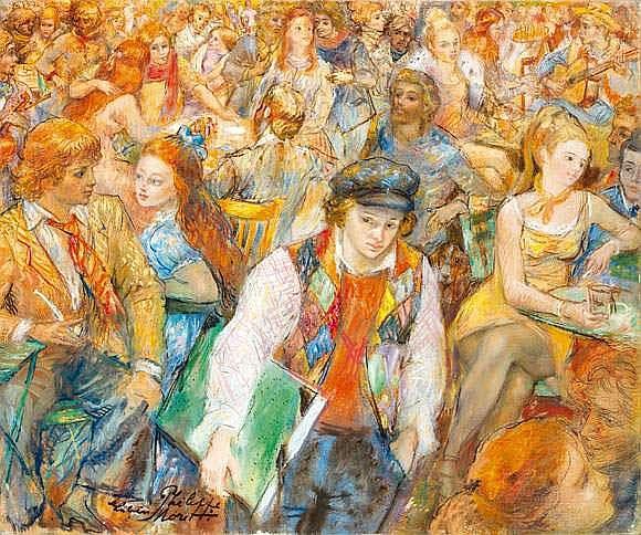 LUCIEN PHILIPPE MORETTI (1922-1999) - LA FEMME DU