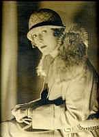 James ABBÉ (1883-1973) - Portrait de femme, années