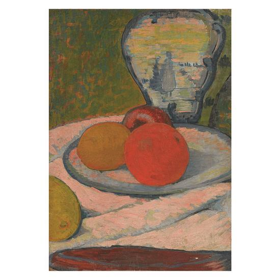 Jan Verkade (1868-1946)Nature morte aux oranges et au vase de Delft, circa 1908