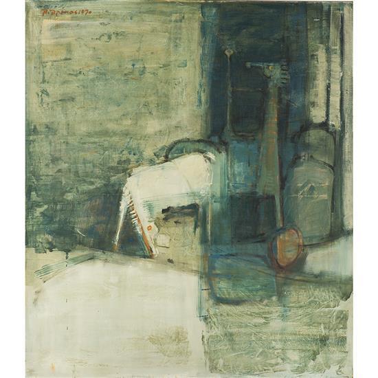 Paris PREKAS (1926- 1999) Sans titre, 1970
