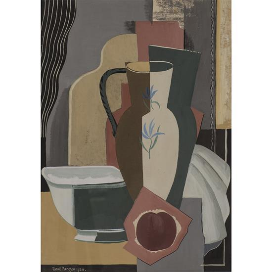 Rene Paresce (1886-1937)Nature morte au vase, 1926