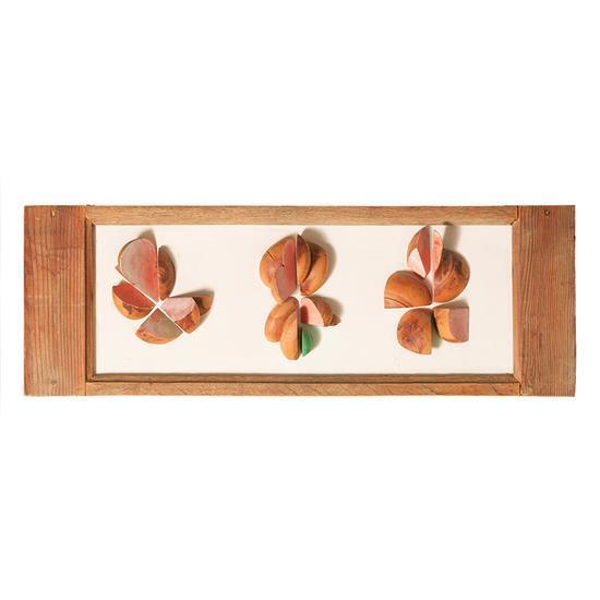 PHILOLAOS (1923- 2010) Trois pivoines roses, 1984
