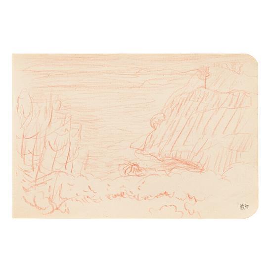 Pierre Bonnard (1867-1947)Marine, 1921