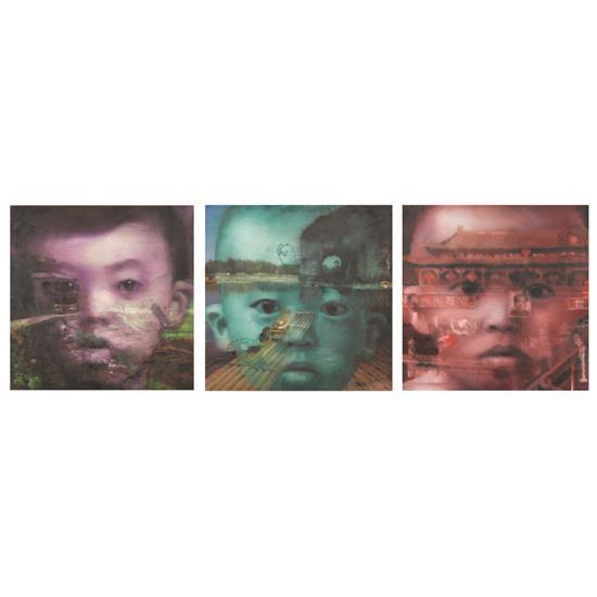 ƒ Li Tianbing (né en 1974)Selfportrait (Village Paris, Xiangbi Hill, Tiananmen), 2010-2011