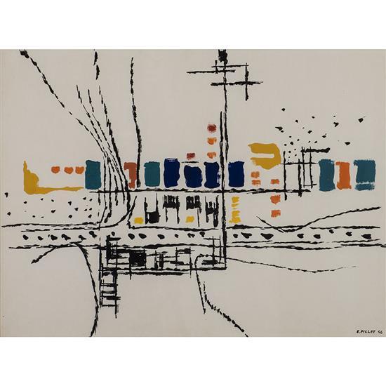 Edgard Pillet (1912-1996)New York, 1956