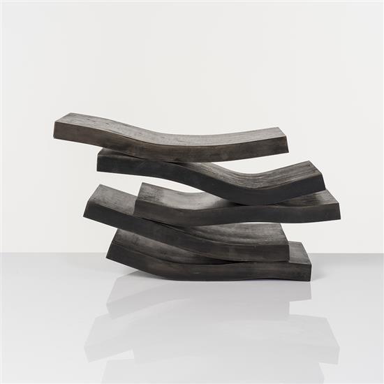 Etienne Viard (né en 1954)5 profilés horizontaux, 2009