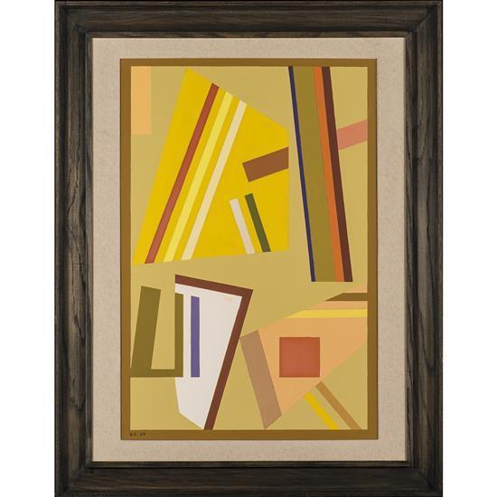Yannis MALTEZOS (1915- 1987) Sans titre, 1970