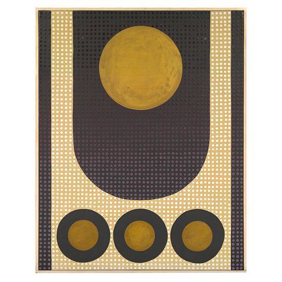 Bamse Kragh-Jacobsen (1913-1992)Abstract composition, 1964