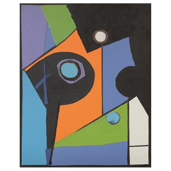 Richard Mortensen (1910-1993)Départ de la Corse, 1961
