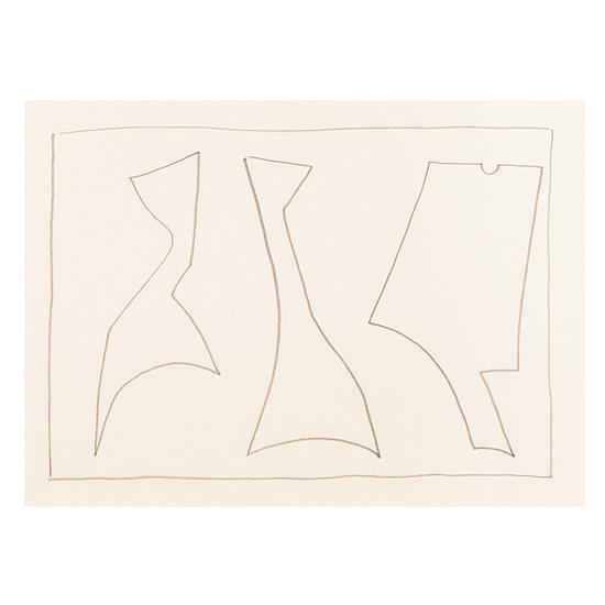Richard Mortensen (1910-1993)Ajaccio, 1958