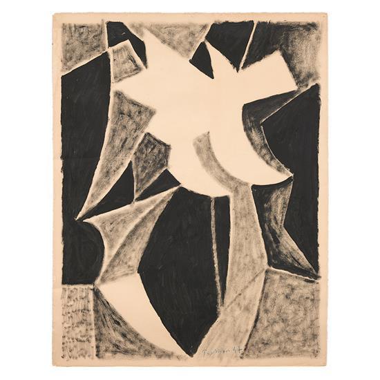 Mario PRASSINOS (1916- 1985) Etudes & Formes , 1947