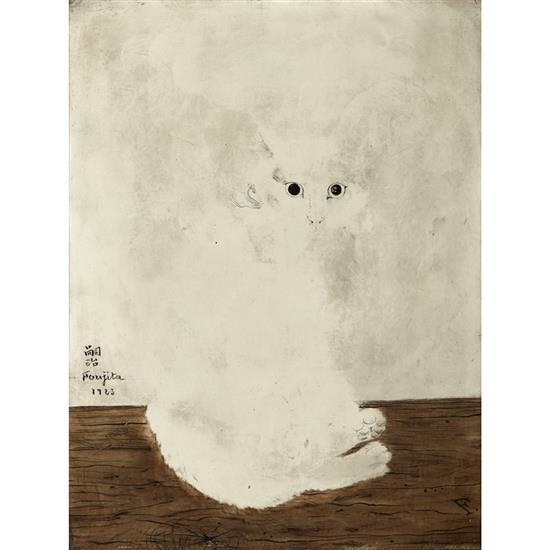 Tsugouharu Foujita (1886-1968)Chat, 1923