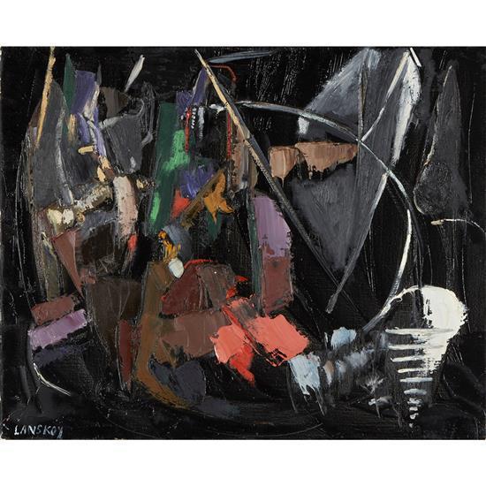 André Lanskoy (1902-1976)Le Deuil d''une souris, 1959