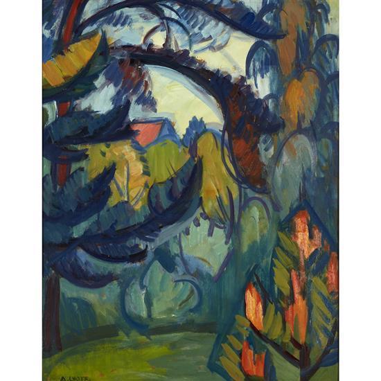 André Lhote (1885-1962)La Forêt, 1910